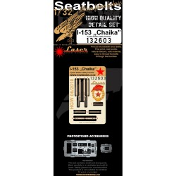"I-153 ""Chaika"" - Seatbelts 1/32 - 132603"