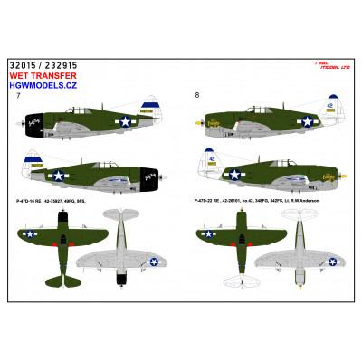Messerschmitt Me 262 - Popisky 1/32 - 232017