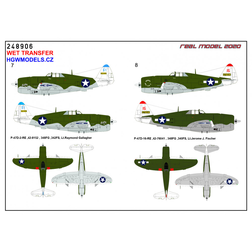 Focke-Wulf Fw 190A - Markings 1/48 - 248041