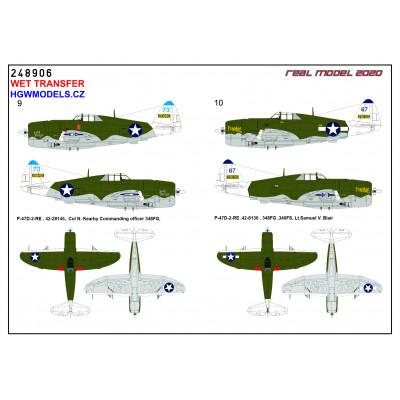 Focke-Wulf Fw 190A - Popisky 1/48 - 248042