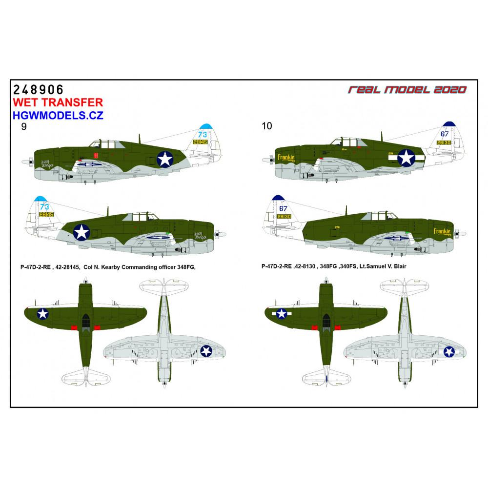 Focke-Wulf Fw 190A - Stencils 1/48 - 248042
