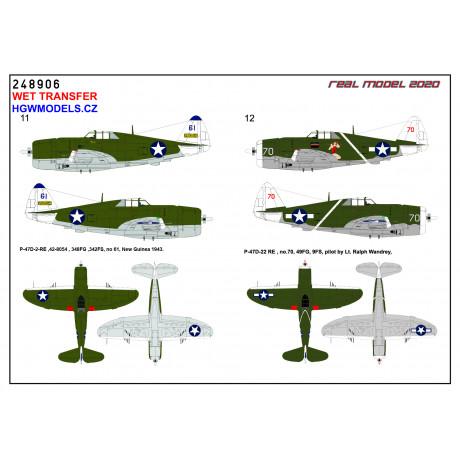 Focke-Wulf Fw 190A - Stencils & Markings 1/48 - 248043