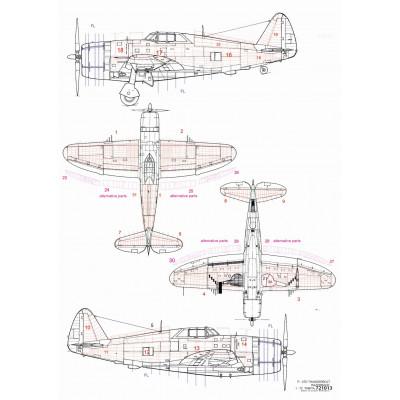 L-29 Delfín - Popisky a Markingy 1/48 - 248040