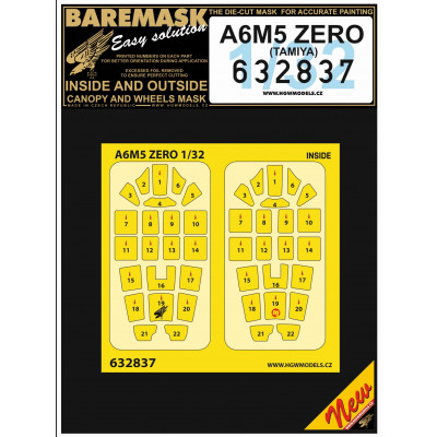 A6M5 ZERO - Masky 1/32 - 632837