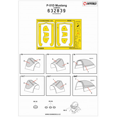 4 Colour Lozenge Lower - Base White 1/72 - 572010