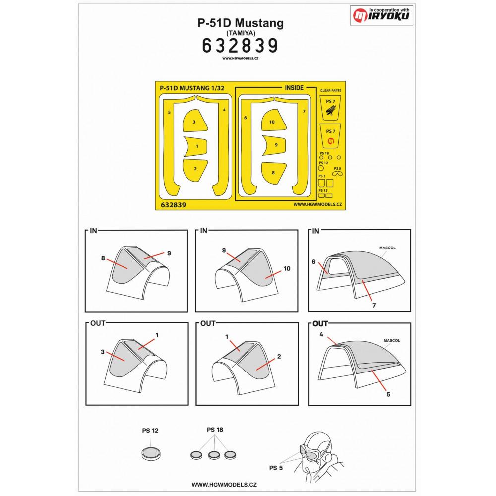 4 Colour Lozenge Lower - Transparent 1/72 - 572010