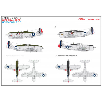 Focke Wulf A8/R2 Reichsverteidigung - Markings 1/48 - 248059