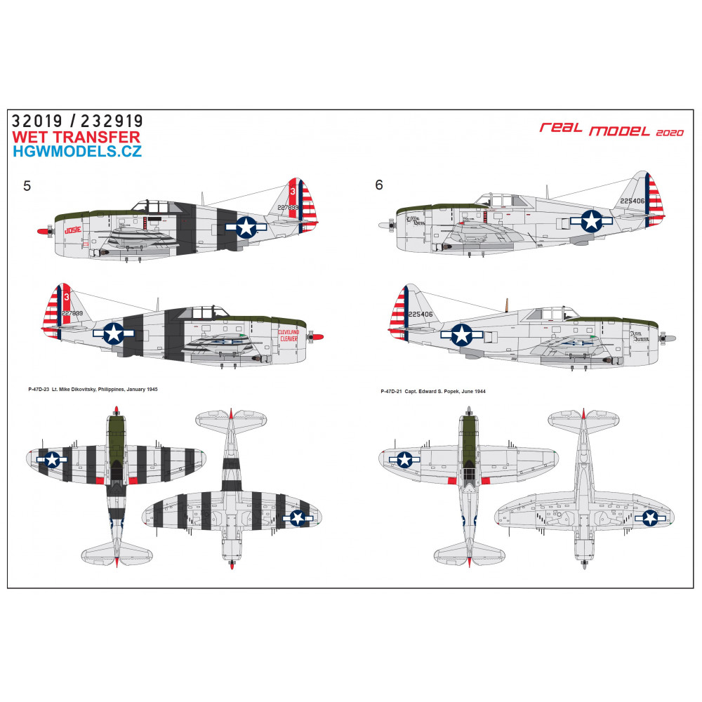 Bf109 G-6/G-14 Reichsverteidigung - Markings 1/48 - 248060