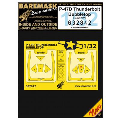 P-47D Thunderbolt Bubbletop - Masks 1/32 - 632842