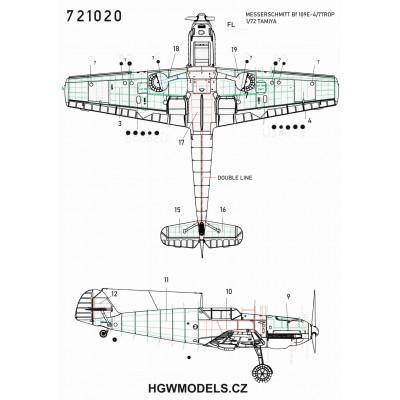 P-47D - Nýtovací sada 1/32 - 321022