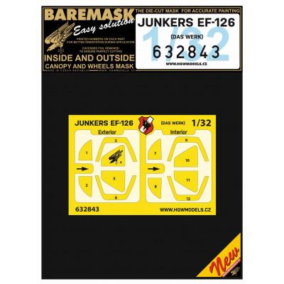 Junkers EF-126 - Masks 1/32 - 632843