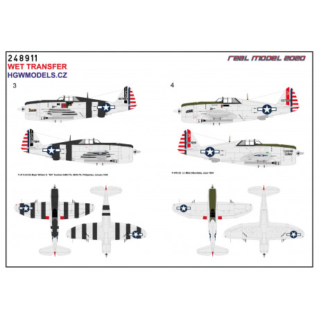 "Messerschmitt Bf109 Afrika"" - Markings 1/48 - 248050"