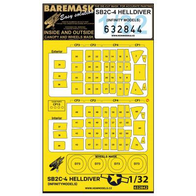 SB2C-4 HELLDIVER - Masks 1/32 - 632844