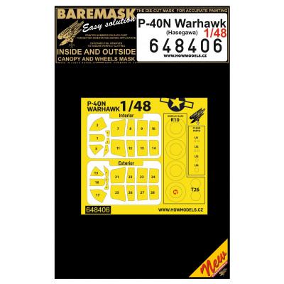 P-40N WARHAWK - Masks 1/48 - 648406