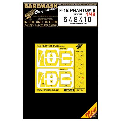 F-4B PHANTOM II - Masks 1/48 - 648410