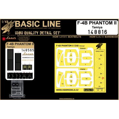 F-4B PHANTOM II - Basic Line 1/48 - 148816