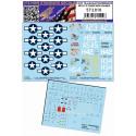 P-47D Thunderbolt - Stencils + Placard - 1/32 - 232029
