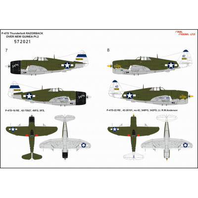 Fw190D-9 - Popisky 1/32 - 232032