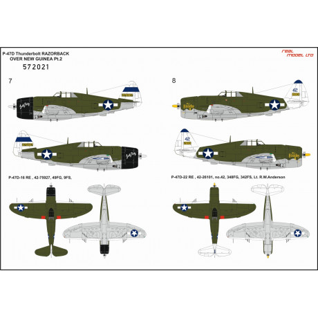 Fw190D-9 - Stencils 1/32 - 232032
