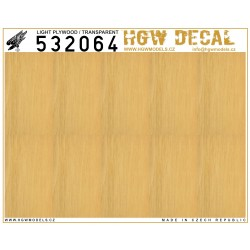 Light Plywood - Transparent (NO GRID) 1/32 - 532064