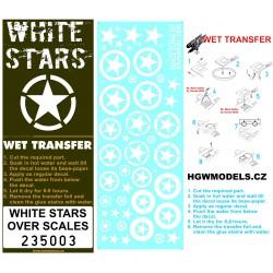 US White Stars - Stencils 1/35 - 235003