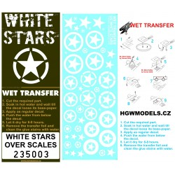 US White Stars - Popisky 1/35 - 235003