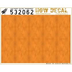 Světlé Dřevo - Transparentní (BEZ MŘÍŽKY) 1/32 - 532062