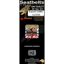 Sopwith Camel - Seatbelts 1/32 - 132590