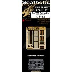 Me 262B Schwalbe - Seatbelts 1/32 - 132582