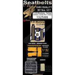 P-51D Mustang - Seatbelts 1/32 - 132586