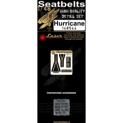 Hurricane - Seatbelts 1/48 - 148544