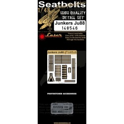 Junkers Ju 88 - Seatbelts 1/48 - 148546
