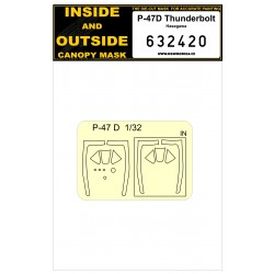 P-47D Thunderbolt - Masks 1/32 - 632420