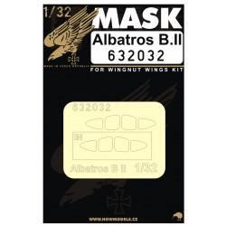 Albatros B.II - Masky 1/32 - 632032