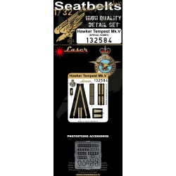 Hawker Tempest Mk.V - Seatbelts 1/32 - 132584