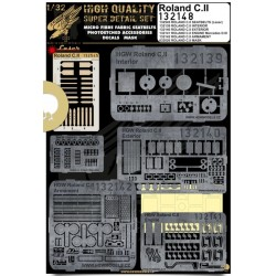 Roland C.II - Super Detail Set 1/32 - 132148