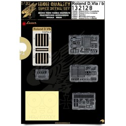 Roland D.VIa/b - Super Detail Set 1/32 - 132128