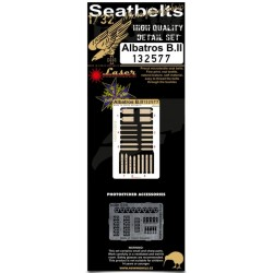 Albatros B.II - Seatbelts 1/32 - 132577