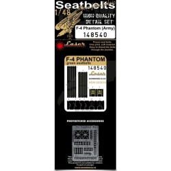F-4 Phantom (Army) - Seatbelts 1/48 - 148540