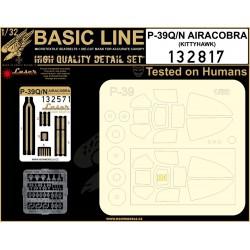 P-39Q/N Airacobra - Basic Line 1/32 - 132817