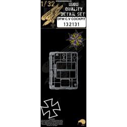 DFW C.V - Kokpit 1/32 - 132131