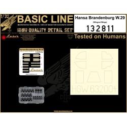 Hansa-Br. W.29 - Basic Line 1/32 - 132811