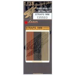 Straps 1mm - Belts 1/35 - 135503