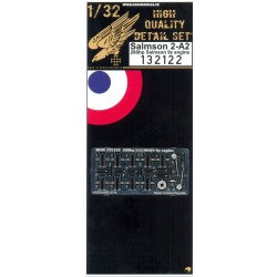 Salmson 2-A2 Engine - PE Set 1/32 - 132122