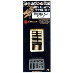 Roland C.II - Seatbelts 1/32 - 132545