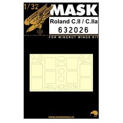 Roland C.II & C.IIa - Masks 1/32 - 632026