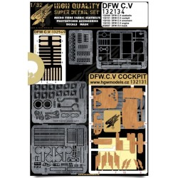 DFW C.V - Super Detail Set 1/32 - 132134