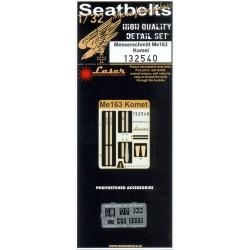 Me 163 Komet - Seatbelts 1/32 - 132540