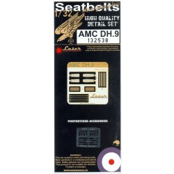 AMC DH.9 - Seatbelts 1/32 - 132538