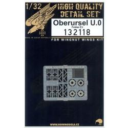 Oberursel U.0 - Fokker E.I PE Set 1/32 - 132118